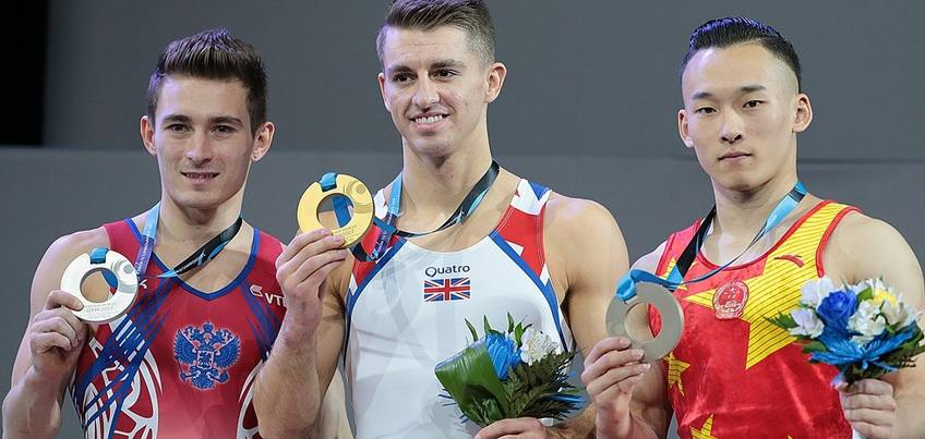 Гимнаст из Удмуртии Давид Белявский стал вторым на Чемпионате мира в Канаде