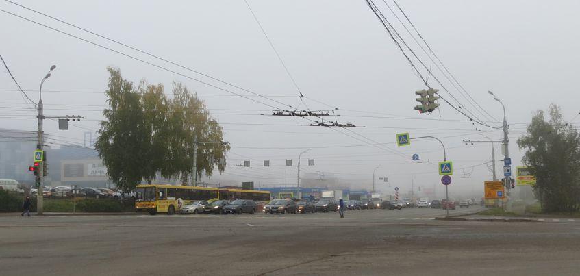 В Ижевске 10 октября ожидается туман