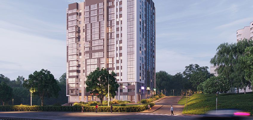 На улице Кирова в Ижевске началось строительство жилого комплекса «Панорама plaza»