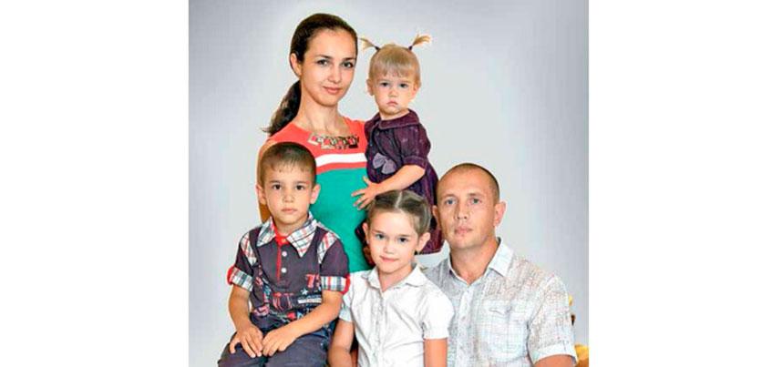 Семья из Ижевска победила на Всероссийском конкурсе «Семья года»