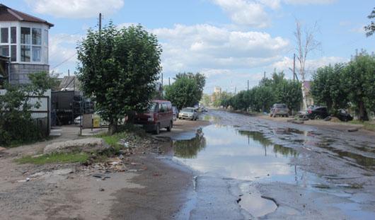 В Ижевске жители Партизанской перекрыли улицу, чтобы обратить внимание властей