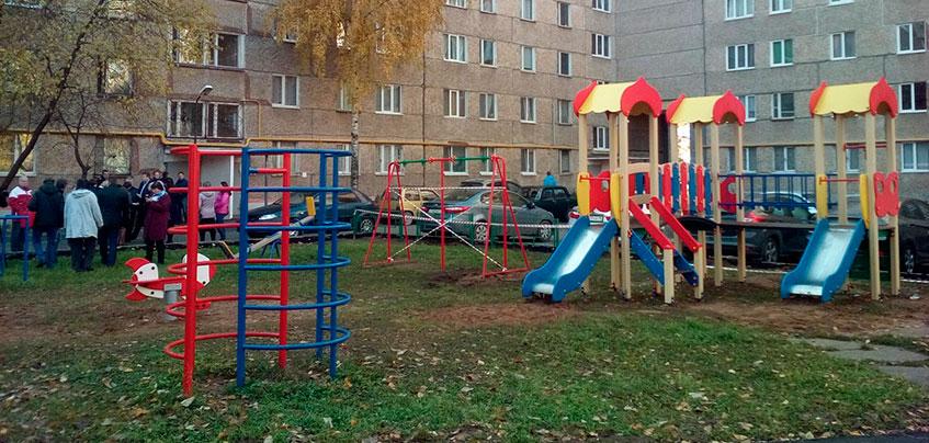 В Удмуртии отремонтировали почти все дворы по программе «Комфортная городская среда»
