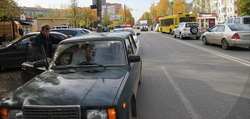 В Ижевске на Дзержинского сбили 5-летнюю девочку на пешеходном переходе