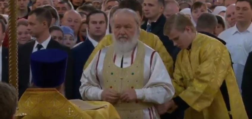 В Свято-Михайловском соборе Ижевска началась Божественная литургия с патриархом Кириллом