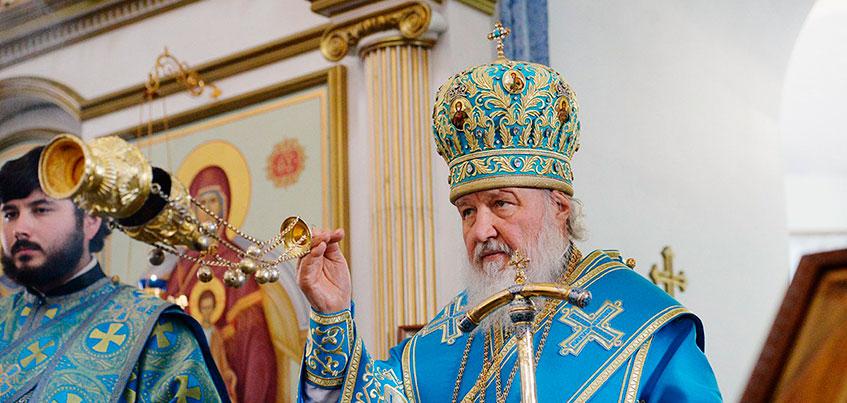 14 фотографий с визита Патриарха Кирилла в Удмуртию