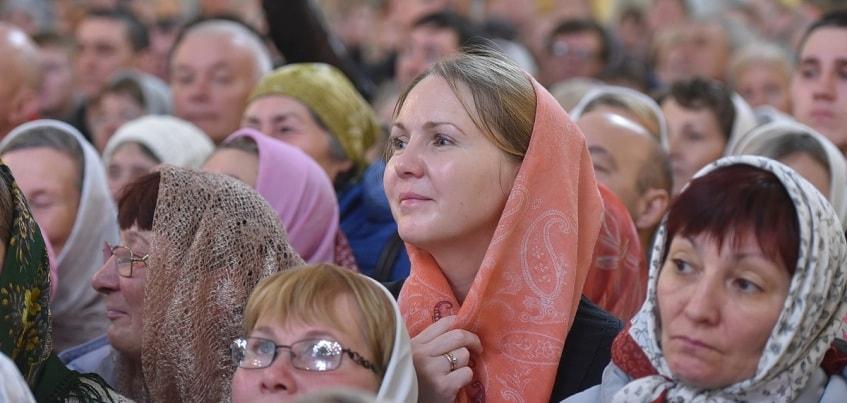 Патриарх Кирилл в Удмуртии: очереди на службы и обновление Михайловского кафедрального собора