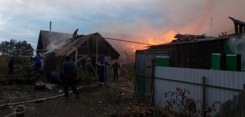 Мужчину-инвалида спас из пожара доброволец в Граховском районе Удмуртии