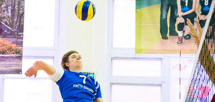 Волейболисты «ИжГТУ-Динамо» стали лидерами Чемпионата России высшей лиги «Б» зоны «Восток»