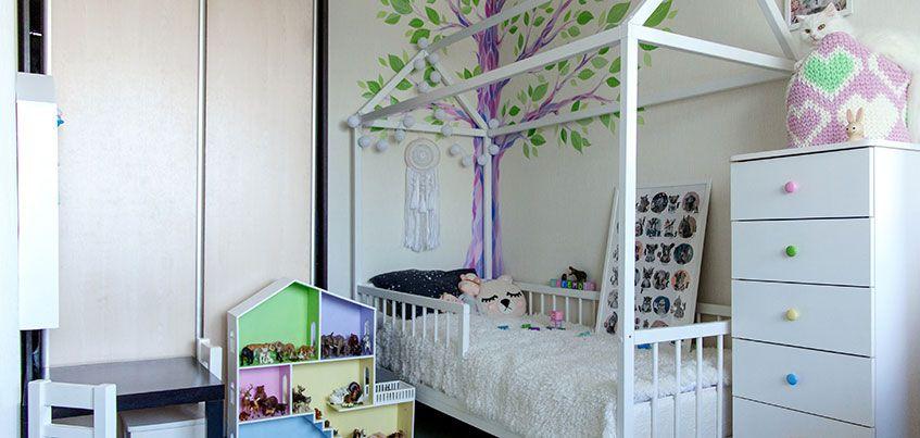 Квартира недели: Как в короткие сроки сделать оригинальную детскую в «однушке»?