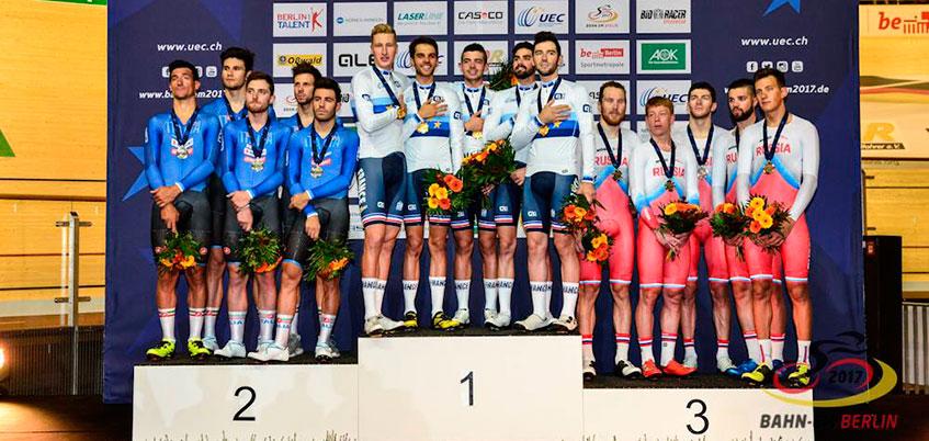 Велогонщики из Удмуртии выиграли бронзовые медали на Чемпионате Европы