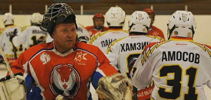 Следж-хоккеисты из Удмуртии разгромили сборную Москвы