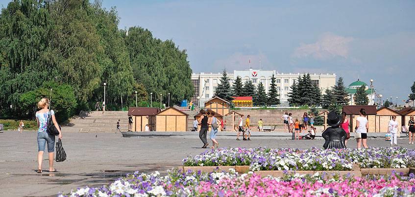 Центральную площадь Ижевска могут отремонтировать уже в 2018 году
