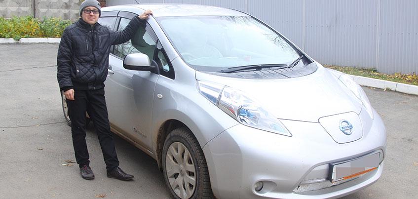 Владелец первого электрокара в Удмуртии: «Трачу в 7 раз меньше денег на авто»