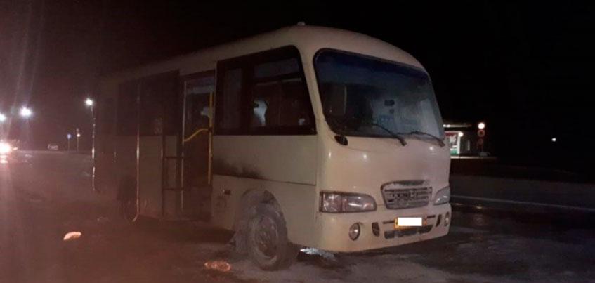 Рейсовый автобус сообщением Ижевск-Можга загорелся на трассе в Удмуртии