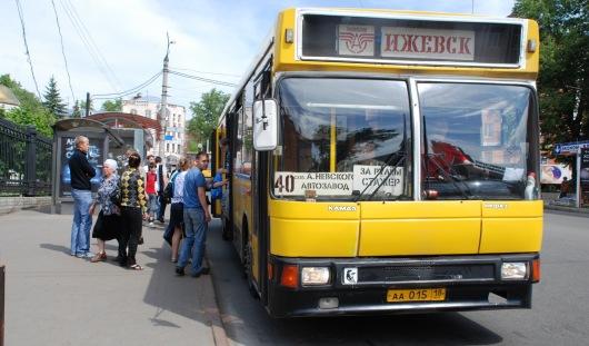 С 12 июля изменились маршруты автобусов и троллейбусов в Ижевске