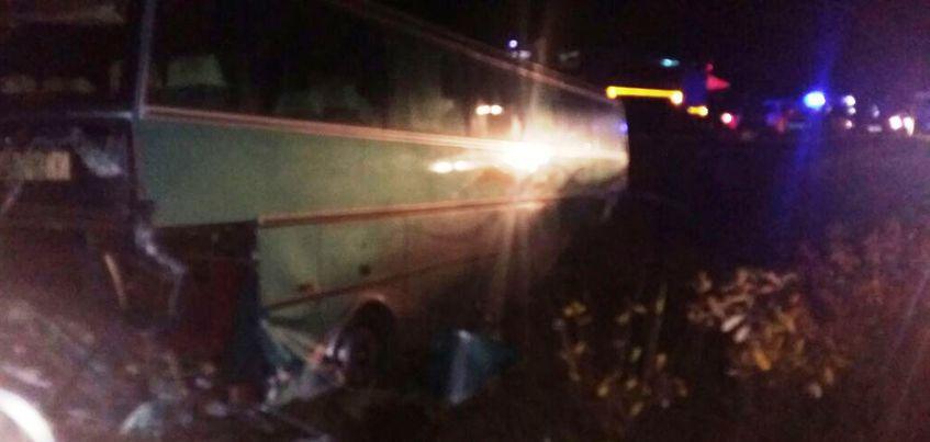Три пассажира автобуса Самара-Сарапул, попавшего в аварию, остаются в больнице
