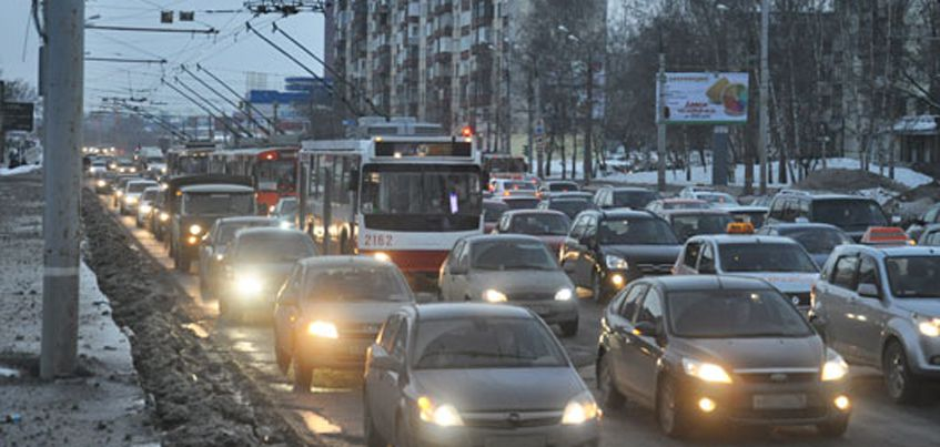 Яндекс начал оценивать пробки Ижевска в баллах