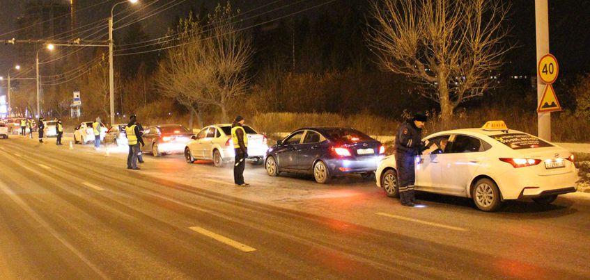 В Ижевске сотрудники ГИБДД привлекли к административной ответственности более 30 водителей