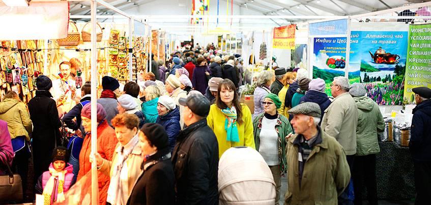 Народная ярмарка откроется 1 ноября на Центральной площади Ижевска