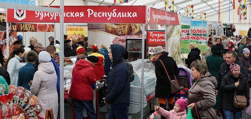 Народная ярмарка в Ижевске: 6 дней для вкусных и ярких покупок