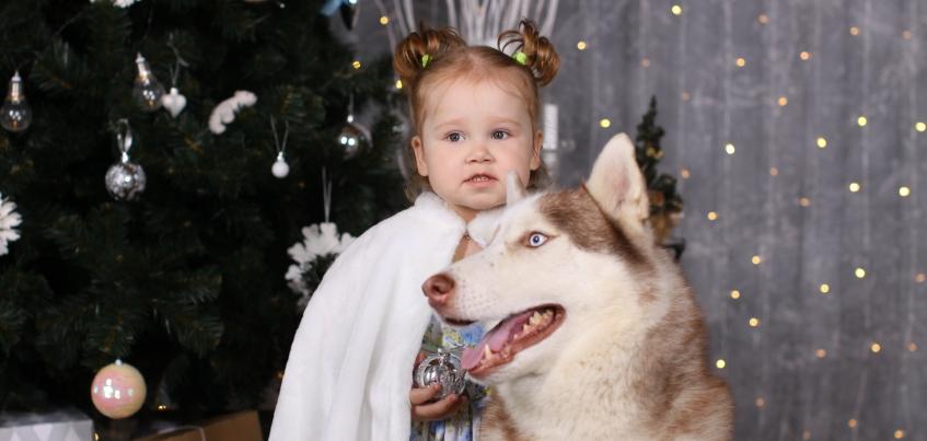 Акция «Ёлка для каждого»: двухлетняя Софья мечтает о тюбинге
