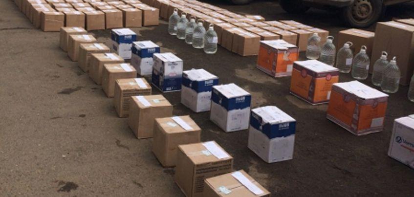 В Удмуртии правоохранители нашли более 10000 бутылок поддельного алкоголя