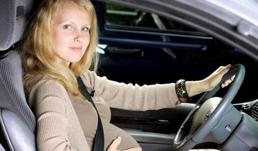 Ученые: вождение авто на втором триместре беременности повышает риск аварии