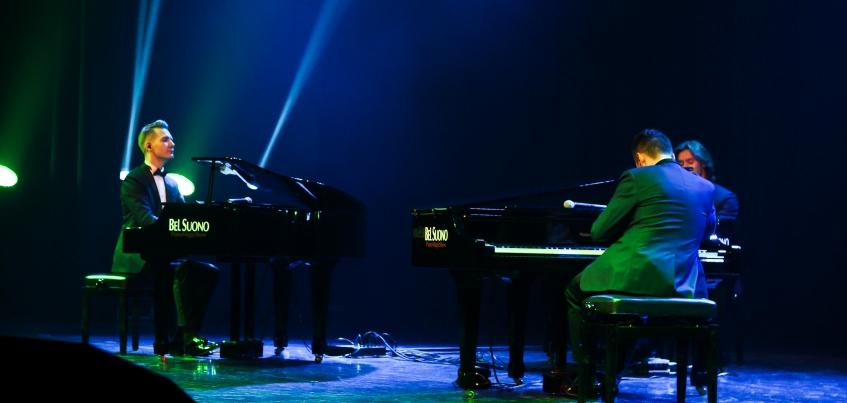 Шоу трех роялей Bel Suono в Ижевске: сочетание классики, джаза и хита Despacito