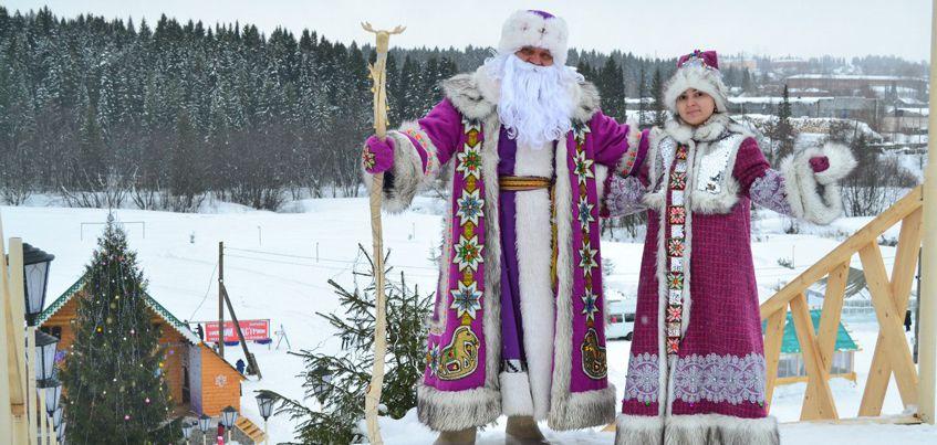 Удмуртский волшебник Тол Бабай попал в топ-5 самых популярных Дедов Морозов России