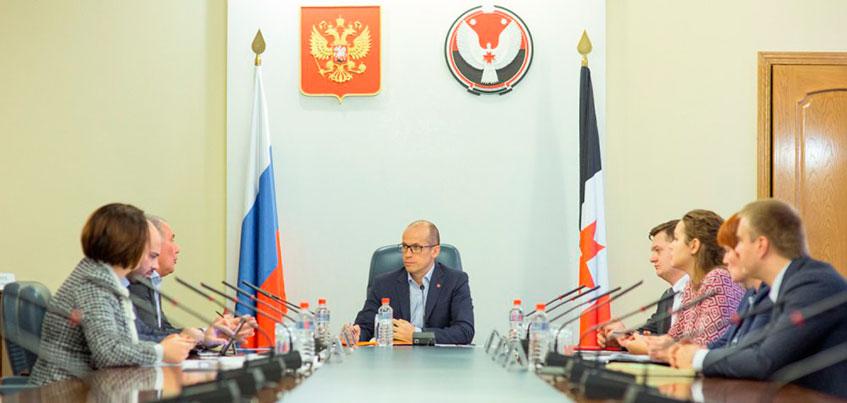 Глава Удмуртии поддержал строительство современного образовательного центра