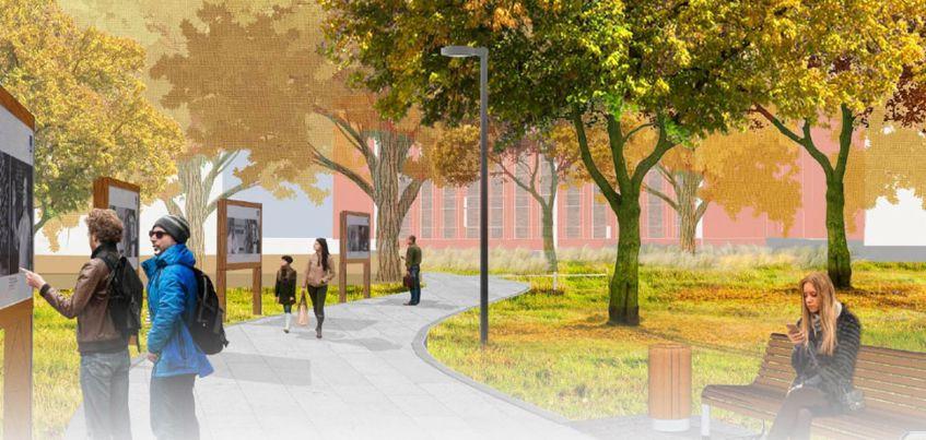 Сцена, кофейня и выставочная площадка: каким будет сквер за Администрацией Ижевска?