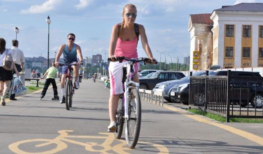 Предложения по строительству новых велодорожек собирают в Ижевске