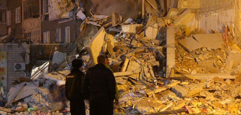 Взрыв газа в Ижевске: Сообщается о четырех погибших