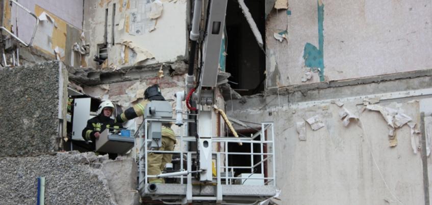 Взрыв газа в Ижевске: с восьмого этажа обрушившегося дома спасли кошку Асю