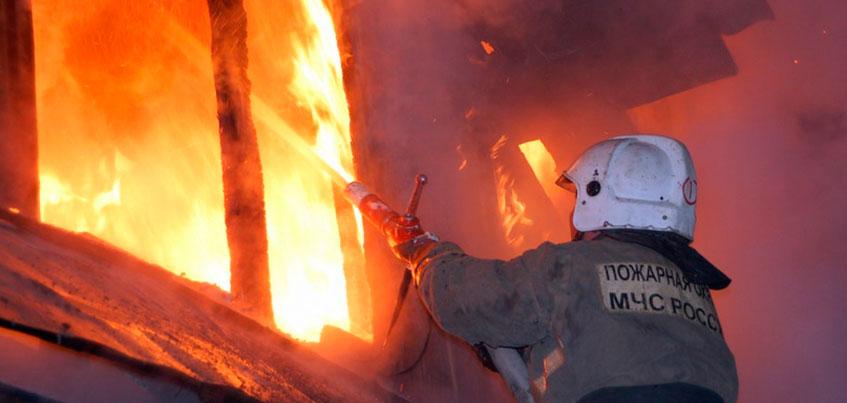 В Удмуртии проводится проверка по факту пожара, в котором погибла женщина