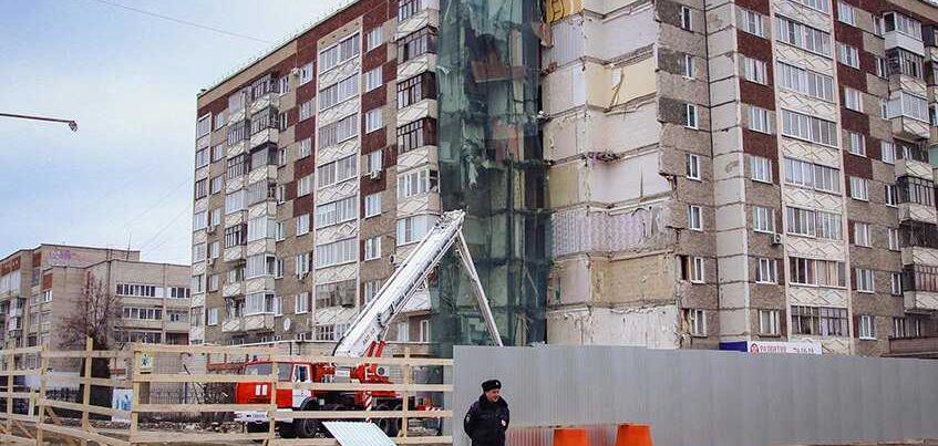 Взрыв газа в Ижевске: жителей дома №261 могут заселить в квартиры уже на этой неделе