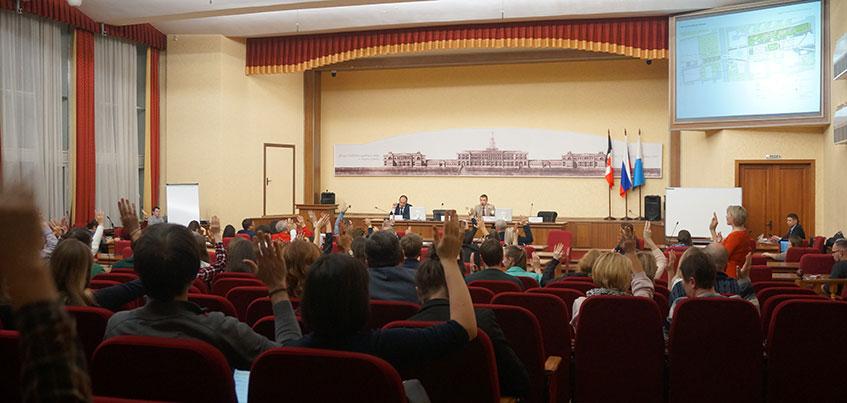 На общественных слушаниях в Ижевске одобрили концепцию реконструкции Центральной площади