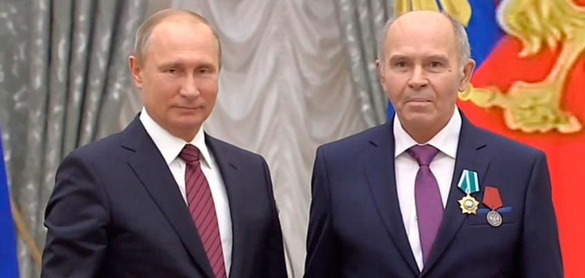 Работник АО «Ижевский мотозавод «Аксион-холдинг» награжден орденом Дружбы