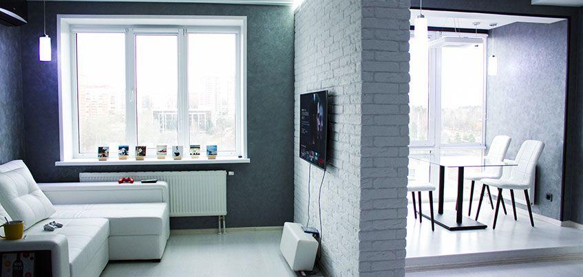 Квартира недели: Холостяцкий минимализм в «однушке» на Советской
