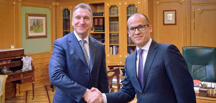 Глава Удмуртии обсудил с Игорем Шуваловым внедрение в республике цифровой валюты