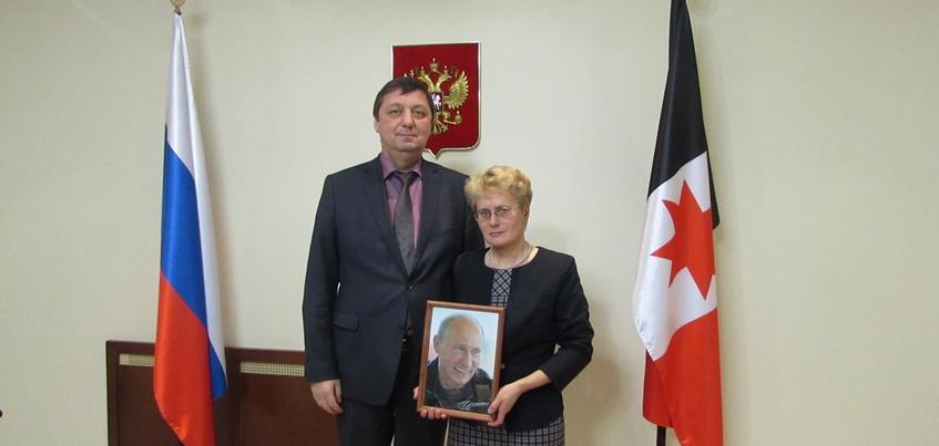 Ижевчанка в свой юбилей получила подарок от Владимира Путина
