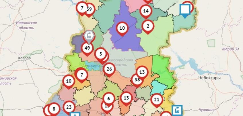 Ростелеком разработал карту транспортных происшествий Приволжского транспортного региона