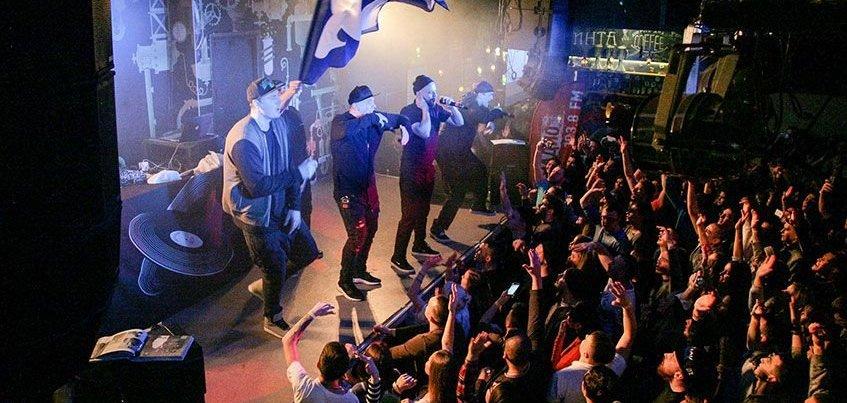 Легендарная рэп-группа «Каста» презентует новый альбом в Ижевске