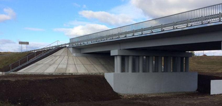 В Удмуртии после ремонта открыли мост на трассе М-7 «Волга»