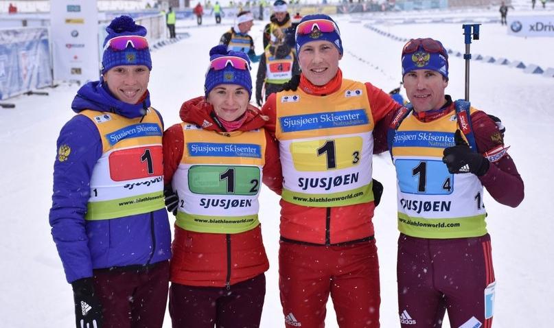 Биатлонисты из Удмуртии выиграли золото в Кубке Европы