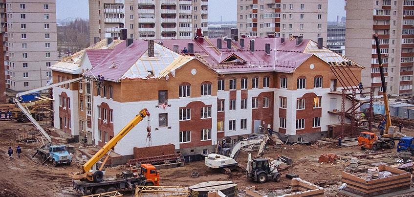 Здание детского сада на ул. Берша в Ижевске сдадут к Новому году