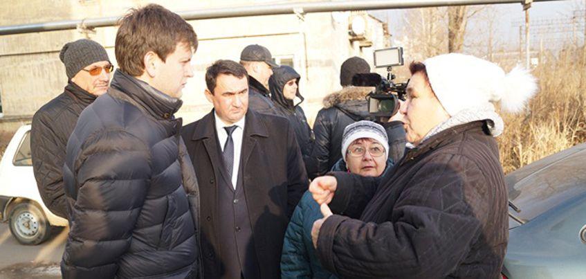 В Ижевске создали рабочую группу для помощи жителям домов по ул. Дружбы