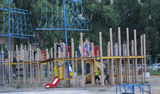В Ижевске детскую площадку от Натальи Водяновой перенесут в парк Космонавтов