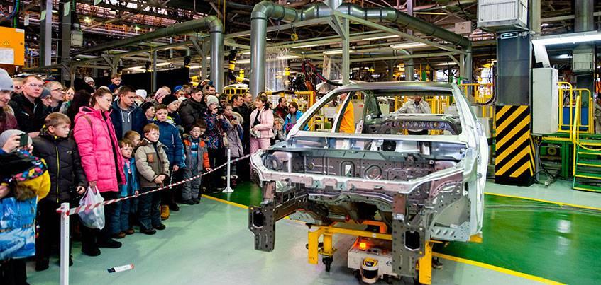 Горожане могут увидеть выпуск 5-миллионного автомобиля Ижевского Автозавода