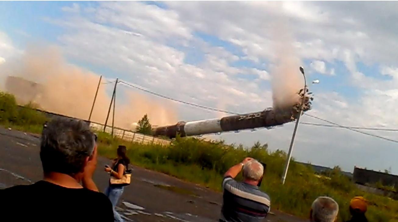 В Ижевске взорвали трубу «Яна»